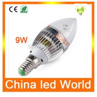 Hot sale E14 2835 5730 SMD high power 3W/5W/9W/10W led candle light bulb lamp Warm White/Cool White,led light AC 110V-240V