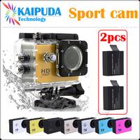 Original SJ4000 Action Waterproof Camera with battery charger Novatek96650 1920*1080P/30FPS Helmet go pro Sport Camera DV Gopro