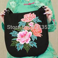 Bolsas femininas 2014 Chinese Style Traditional National Wind Vintage Original folk canvas embroidery tourism shoulder  bag