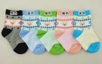Free Shipping 10Pairs/LOT Children Cute Cartoon  Infant Kids Socks