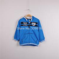 2014 Fall New Arrival Original Topolino Brand Baby/Toddler Boy's Hooded Coat for Kids Outwear 80cm/86cm/92cm/98cm