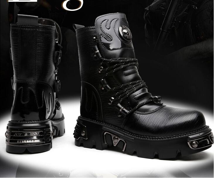 Boots Punk Rock Goth Punk Rock Band Boot