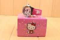 free & drop shipping 4sets/lot retail wholesale hot sales Elsa Anna cartoon kids girls gifts alloy wrist watch and box