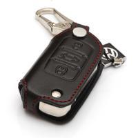 Volkswagen Leather key cases/leather key bag/key cover Fit for NEW LAVIDA Bora Sagitar Polo Golf 6, Passat Tiguan