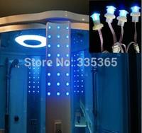 300pcs 0.2w waterproof colorful decorate rgb led sauna room light with 10pcs remote
