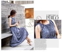 New elegant dress women bohemia vintage print dress O neck long slim dress autumn evening party casual dresses 18