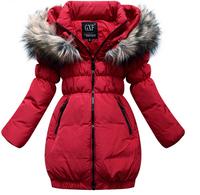 New Arrival 2014 Brand Children's Winter Clothing Sets Child Girl Down Coat / Jacket coats for girls