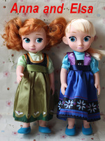 Free shipping 30cm 12inch New toy Frozen Doll With Good Gift  Princess Elsa and Anna In Stock!