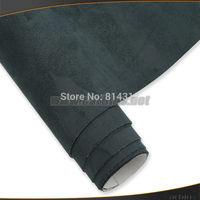 Alcantara suede fabric black self adhesive 1.35*15m for avto, for cars