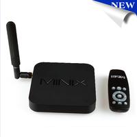 MINIX NEO X8-H X8 -H X8H Android TV Box Quad Core Amlogic S802-H 2GB 16GB 4K Android Kitkat 4.4 Smart TV Box XBMC Mini PC