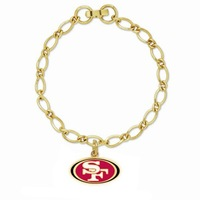 2014 new top trendy free shipping San Francisco 49ers Inspired Para Cord Survival Bracelet for mowen