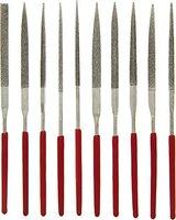SE - File Set - Regular Diamond Needle , 2mm X 100mmx 50mm, 10 Pc
