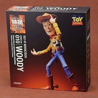 Toy Story: SCI-FI No. 010 Woody Action Figure Collection Action Figure model ; free shipping box package