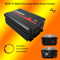 Free Shipping 12VDC to 240VAC 50HZ 300W Pure Sine Wave Inverter with Australia Socket for Home/Car Use