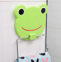 Mixed batch Seamless  creative hanging towel rack bathroom  accommodating two sucker 5 Cartoons optional