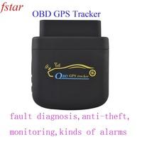 Mini car obd  tracker  XH007 diagnose and manage the car + free platform + free shipping
