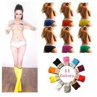 Brand Women Underwear Sexy Panties  Cotton Modal Intimaites Calcinha Women's Briefs Lingerie Black 11 Colors M-XL 498