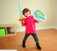 Hot sale new 44600 sword and shield pneumatic combined toy