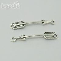 Free shipping New arrival 6X38MM 50PCS/Lot Zinc Alloy Cupid charm jewelry making CN-BJI807-69, Yiwu