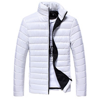 2014 new mens winter jacket men's hooded wadded coat winter thickening outerwear male slim casual cotton-padded outwear 9 color