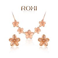ROXI Brands fashion women jewelry sets, Austrian crystal,Nickeless jewelry set,free shipping,wholesale ,best Christmas gifts