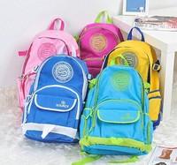 free shipping 2014 fashion Korean beautiful outdoor waterproof storage travel fold comping bag school backpack boy bookbags