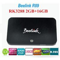 Beelink R89 RockChip RK3288 Android TV BOX Quad Core 1.8GHz 2G/16G 2.4G/5GHz WiFi H.265 OTA HDMI 4K*2K SPDIF Smart TV