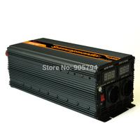 24V DC to 220V 230V AC Digital display 3000 6000 watt  power inverter modified sine wave converter