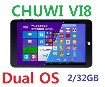 "Chuwi Vi8 двойной загрузки OS планшет пк windows 8.1 андроид 4.4 Intel четырехъядерных процессоров 2 ГБ 32 ГБ 8 "" IPS 1280 x 800 Bluetooth 4.0 HDMI"