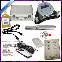 Round Digital Permanent Makeup Kit Support Tattoo Identification Onto Pets Effective and Safe Makeup Kit 011P
