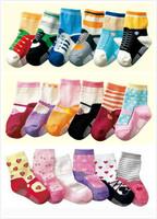 Wholesale 180pairs/lot New Cute Baby Socks/Kids girl and boy Slip-resistant  Floor Socks free shipinng