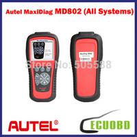 Autel Maxidiag Elite Md802 Code Scanner Pro All System DS+EPB+OLS+Data Stream Diagnostic Tool