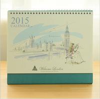 New 2015  London, Big Ben desk calendar/ desktop program book / 2015 calendar   3819   0.33kg