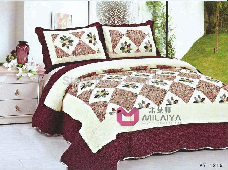 [ ay1219 ] de luxo incluem edredon tampa de cama folha fronha ar condicionado quilt reativa impressão conjuntos de cama 3pcs Frete grátis(China (Mainland))