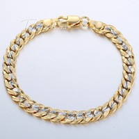 6mm Womens Mens Chain Ladies Girls Boys Hammered Cut Round Curb Cuban Silver Yellow Gold Filled GF Bracelet Personalize Sz GB292