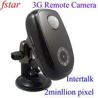 Alarm 3G remote camera USIM card WCDMA/ 3G net + free shipping via DHL