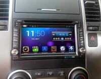 Pure android 4.2.2 Car DVD for Nissan Qashqai X-trial Paladin Tiida Sunny Livana NP300 Micra Versa Patrol with Capacitive screen