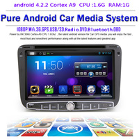 Pure android 4.2.2 Car DVD GPS for Geely Emgrand EC7 with Capacitive screen 1.6G CPU Dual Core 1G RAM Radio Tape Recorder Stereo