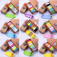 women's socks  love candy color sock women's cute sock slippers Fashion Ankle Boat Short Socks