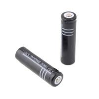 Free shipping ! 2 Pcs 3.7V 6000mAh 18650 Li-ion Rechargeable Battery for Flashlight