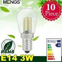 MENGS 10Pcs per pack E14 3W LED Globe Light 64x 3014 SMD LEDs LED Lamp In Warm White/Cool White Energy-saving Lamp