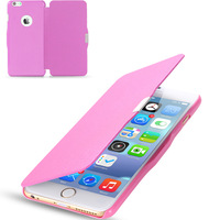 Magnetic Chip PU Leather Flip Case For iphone 6 4.7inch /For iphone 6 Plus 5.5 inch Slim Regular Pattern Phone Cover SGS04222