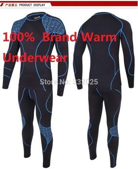 C и C рынок. Толстый зима тёплый комплект, Мужчины underwear.2014 polartec марка тепловой майки