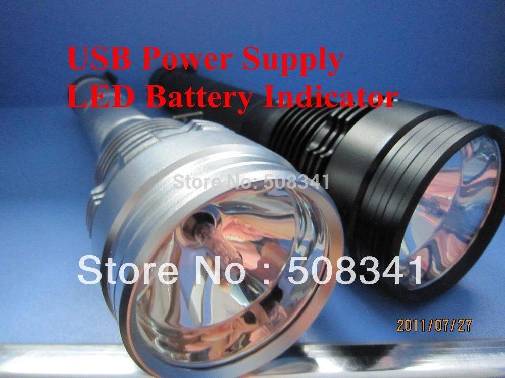 High Power 85W HID flashlight HID torch POLICE HID FLASHLIGHT(China (Mainland))