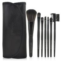 Hot 7pcs Synthetic Makeup Brush Set Black Makeup Tools & styling tools Brushes pincel maquillaje Maquillage maquiagem trucco