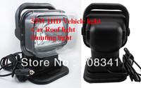 55W HID remote search light work light 12V car Searchlight car spotlights roof remote lights search lights