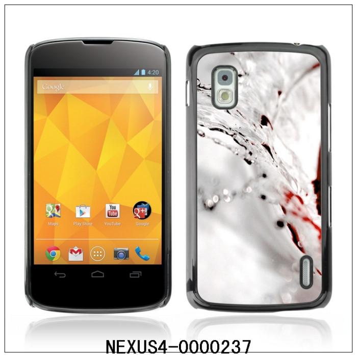 Water Splash-FOR LG NEXUS 4 E960 Plastic Hard Back Case Cover Shell (NEXUS4-0000237)(China (Mainland))