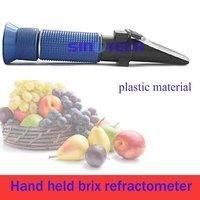Sinotech hand held cutting liquid Brix 0 - 18%  Refractometers P-RHB-18ATC Plastic material(blue)