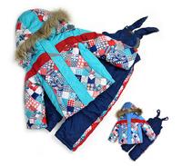 Baby snowsuit Winter children ski suits NEW 2014 girl's ski jackets+pants+vest kid's ski winter clothing for 12M-3T