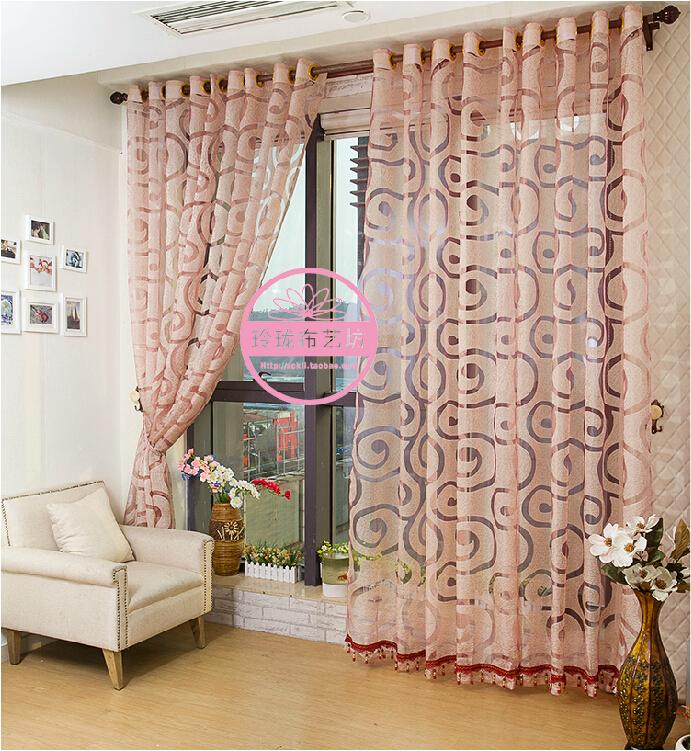 Модные шторы для из тюля